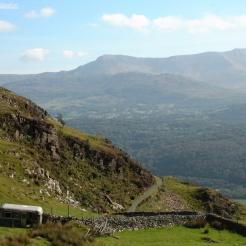 Mountain Slopes, Snowdonia, Wales