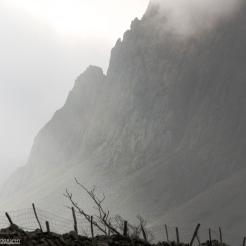 The edge of Cader Idris, Wales
