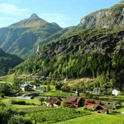 Flam Valley, Norway