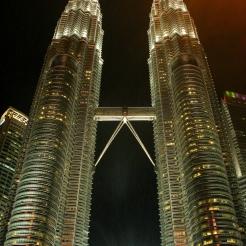 Petronas Towers at Night, Kuala Lumpur