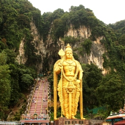 The Entrance to Batu Caves, KL
