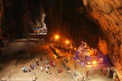 The Shrine below, Batu Caves, KL