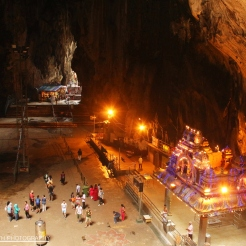 The Shrine below, Batu Caves, KL