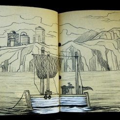 Sketchbook: Island Day Dreams